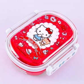 Hello Kitty Lace & Argyle Bento Box
