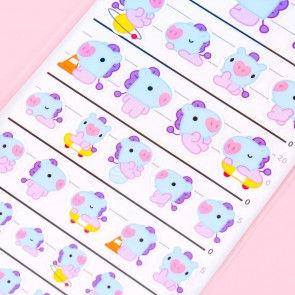 BT21 Mang Four Size Stickers