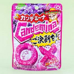 Kanro Candemina Gummies - Grape Soda