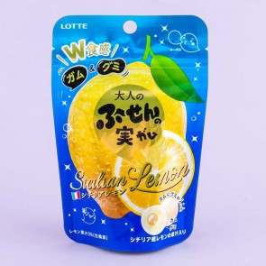 Lotte Adult Fu-Sen No Mi Gummies - Sicilian Lemon