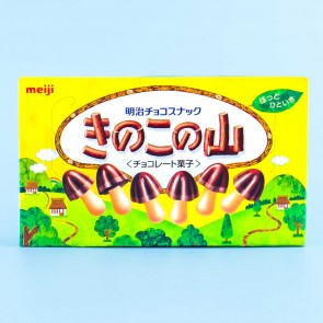 Meiji Mushroom Mountain Someity Chocolate Biscuits