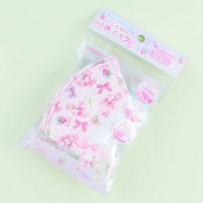 Bonbonribbon Kids Non-Woven Face Mask Set