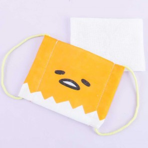 Gudetama Reusable Kids Face Mask