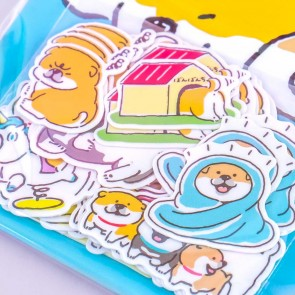Mind Wave 30th Anniversary Stickers - Shibanban