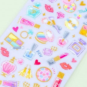 Sparkle Holic Cosmetic Dream Sticker Sheet