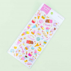 Sparkle Holic Sweets Sticker Sheet