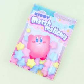 Kirby Star Marshmallows Flat Pouch