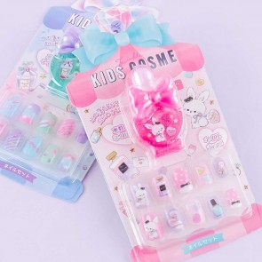 Twinkle Kids Cosme Pastel Stick-On Nails Set