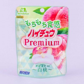 Hi-Chew Premium Candy - White Peach