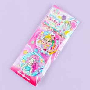 Tropical Rouge! Pretty Cure Clip Badge Set - Cure Summer