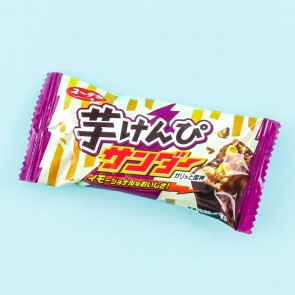 Yuraku Imo Kenpi Thunder Chocolate Bar