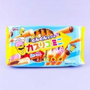 Glico Caplico Mini Ice Cream Snacks - 10 pcs