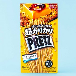 Pretz Extra Crispy Biscuit Sticks - Butter Soy Sauce