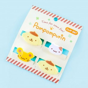Pompompurin Office Clip Set