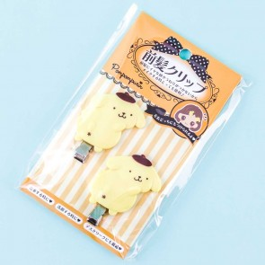 Pompompurin No-Trace Bangs Hair Clips