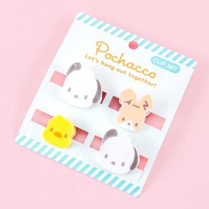 Pochacco Office Clip Set