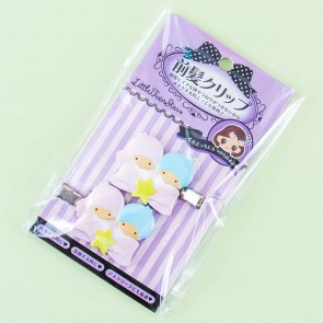 Little Twin Stars No-Trace Bangs Hair Clips