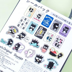 Bad Badtz Maru Shopping Bag Sticker Set