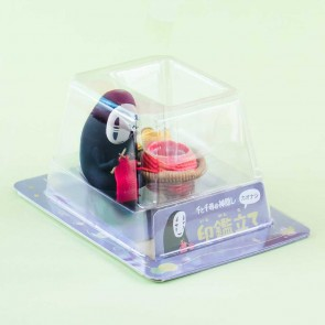Spirited Away No-Face Knitting Stand Figure