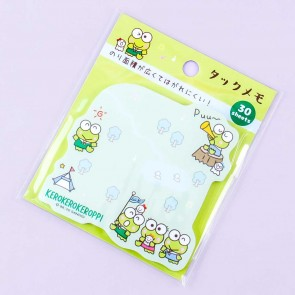Kero Kero Keroppi Camping Adventure Sticky Notes