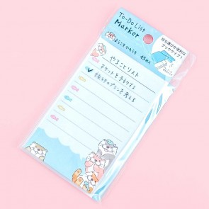 Welcome Otter To-Do List Memo Pad