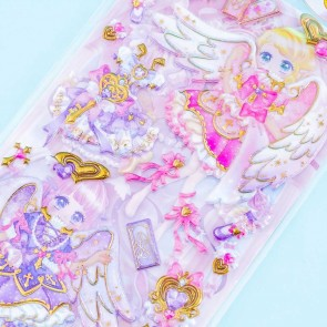 Angelic Release Sparkling Sorceress Puffy Stickers