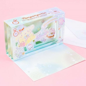 Pompompurin Fantasy Pop-Up Greeting Card