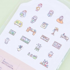 Girly Apartment Life Deco Stickers
