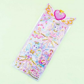 Angelic Release Jewel Princess Puffy Stickers