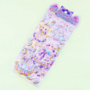 Magical Lace Princess Puffy Stickers