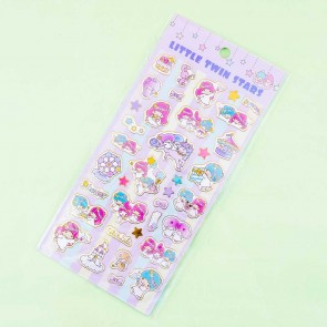 Little Twin Stars Flower Crown Festival Stickers