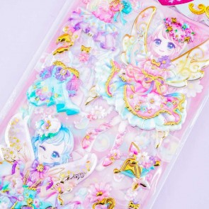 Angelic Release Spring Fairy Puffy Stickers