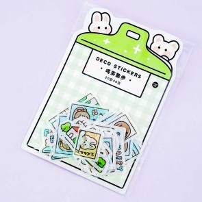 Girly & Bunny Daily Deco Stickers