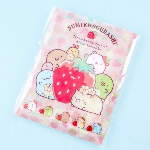 Sumikko Gurashi Strawberry Party Memo Pad With Pouch