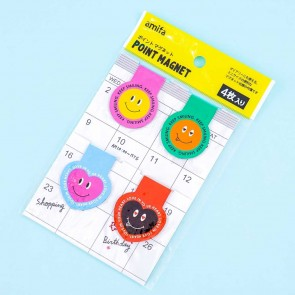 Smiley Face Magnetic Bookmark