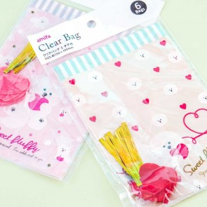 Sweet Fluffy Doggy Mini Wrapping Bags