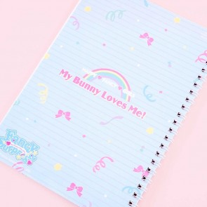 My Bunny Loves Me Spiral Notebook