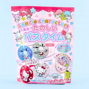 Sanrio Characters Fruity Bath Salt With Toy