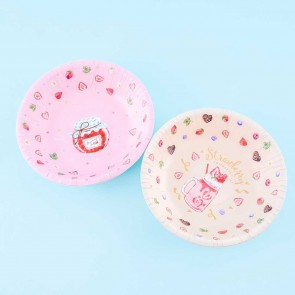Strawberry Sweets Collection Paper Bowl Set - 4 pcs