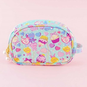 Sweet Party Oblong Cosmetic Bag