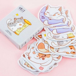Kitty Playtime Stickers