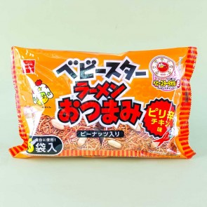 Baby Star Chili Chicken Noodle Snacks Multi-Pack - 6 pcs
