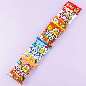 Baby Star Mixed Flavor Noodle Snacks - 4 pcs