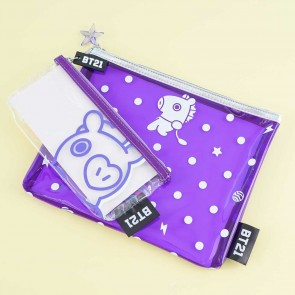 BT21 Dotted Pouch Set - Mang
