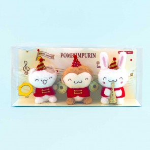 Pompompurin 25th Anniversary Marching Band Moving Plushie Set