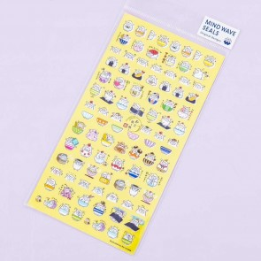 Sheep Rice Bowl Topping Stickers