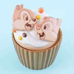 Disney Cupcake Canister - Chip & Dale