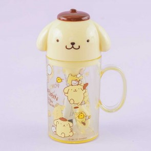 Pompompurin Toothbrush Set With Cup