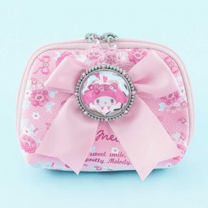 My Melody Flowery Ribbon Pouch