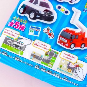 F-Toys Vehicle Sticker With Gum